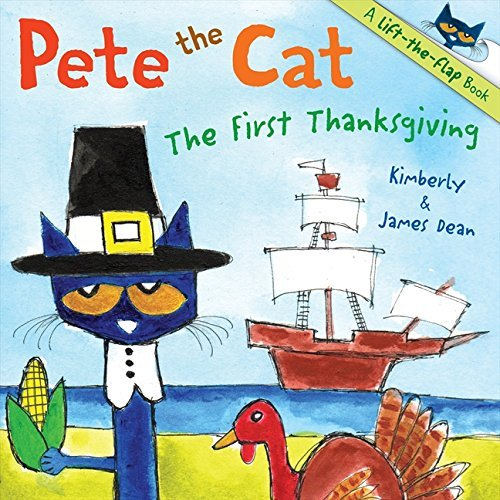 James Dean Pete The Cat The First Thanksgiving