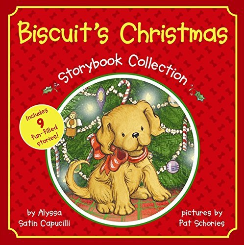 Alyssa Satin Capucilli Biscuit's Christmas Storybook Collection