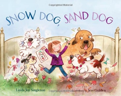 Linda Joy Singleton Snow Dog Sand Dog