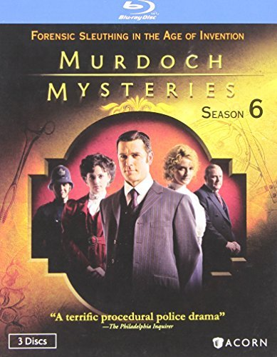 Murdoch Mysteries Season 6 Blu Ray Nr Ws