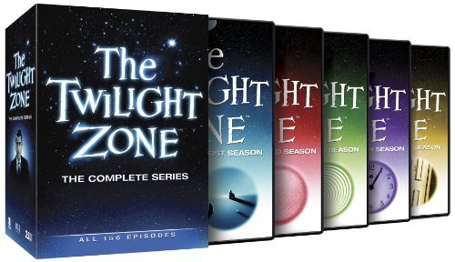 Twilight Zone Complete Series DVD 25 Discs