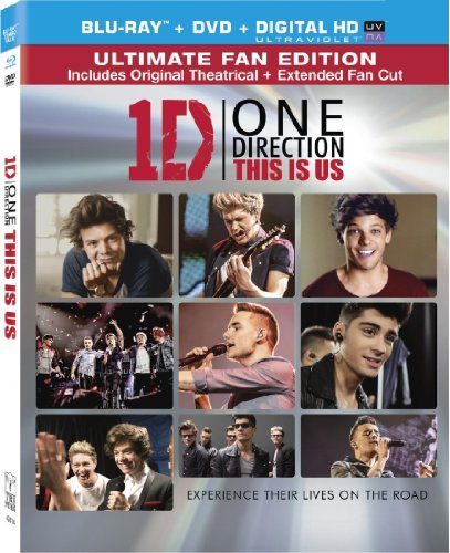 One Direction This Is Us One Direction This Is Us Blu Ray DVD Uv Pg Ws