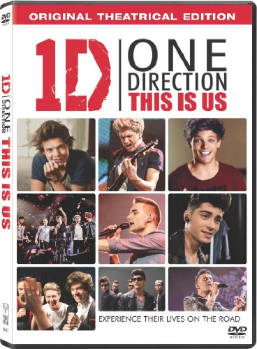 One Direction This Is Us One Direction This Is Us DVD Uv Pg Ws