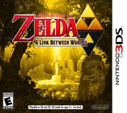 Nintendo 3ds Legend Of Zelda A Link Between Two Worlds Nintendo Of America E10+