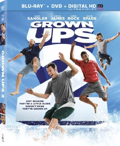 Grown Ups 2 Sandler Spade Rock Blu Ray Ws Pg13 DVD Uv