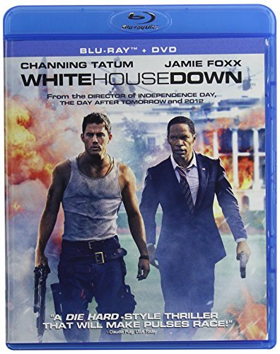 White House Down Tatum Foxx Blu Ray Ws Pg13 DVD Uv