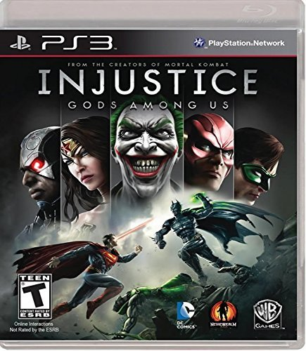 Ps3 Injustice Gods Amoung Us