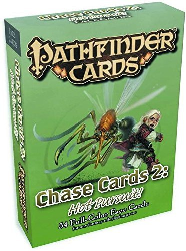Jason Bulmahn Pathfinder Campaign Cards Chase Cards 2 Hot Pursuit!