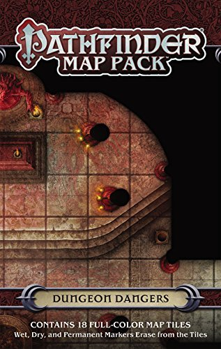 Jason A. Engle Pathfinder Map Pack Dungeon Dangers