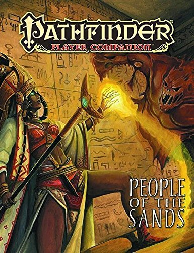 Paizo Staff Pathfinder Player Companion People Of The Sands