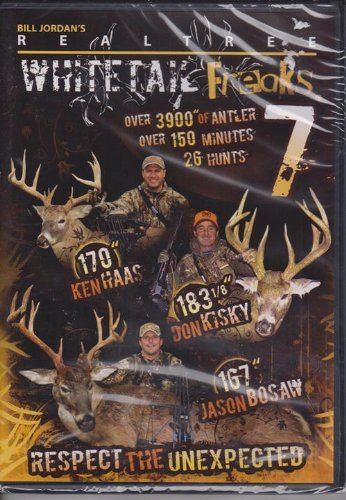 Realtree Whitetail Freaks 7 ~ Deer Hunting DVD New
