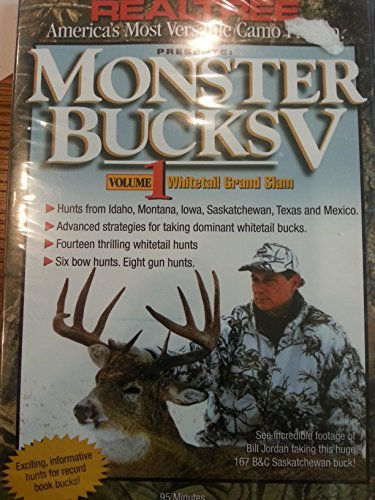 Bill Jordan Monster Bucks 5 Vol. 1 Whitetail Grand Slam