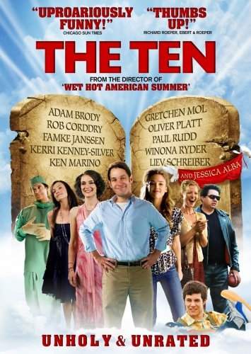 Paul Rudd Jessica Alba Winona Ryder David Wain The Ten (unholy & Unrated) (2009) Ur