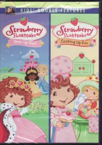 Sarah Heinke Dejare Barfield Laura Grimm Nils Haal Strawberry Shortcake DVD Two Pack Dress Up Day
