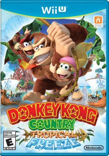 Wii U Donkey Kong Country Tropical