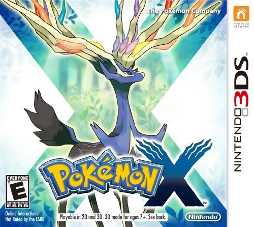 Nintendo 3ds Pokemon X Nintendo Of America E