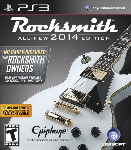 Ps3 Rocksmith 2014 Edition (no Cab Ubisoft Rocksmith 2014 Edition (no Cable)