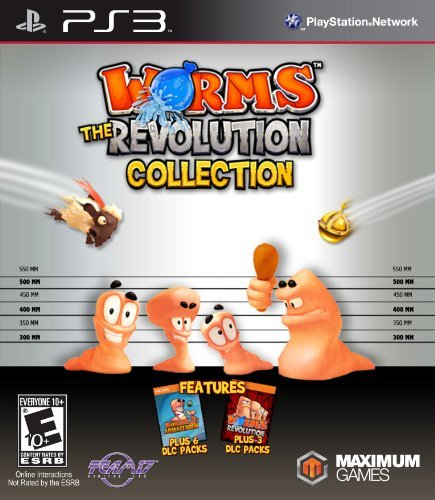 Ps3 Worms Revolution Collection Maximum Games E10+