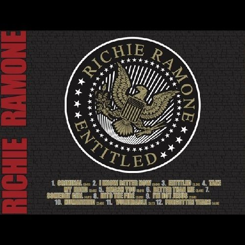 Richie Ramone Entitled Digipak