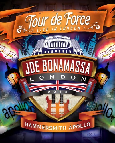 Joe Bonamassa Tour De Force Live In London Hammersmith Apollo Blu Ray