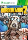 Xbox 360 Borderlands 2 Game Of The Yea Take 2 Interactive M