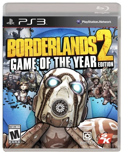 Ps3 Borderlands 2 Game Of The Yea Take 2 Interactive M