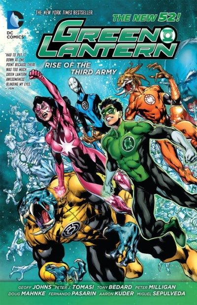Geoff Johns Rise Of The Third Army