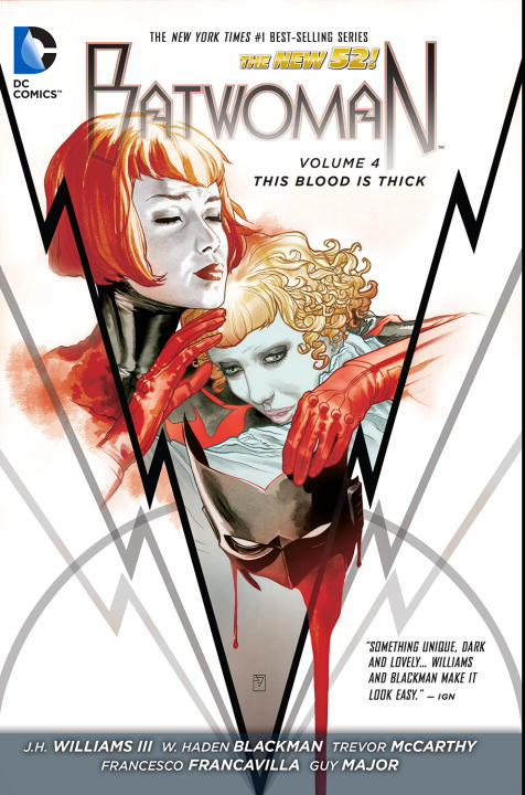 Jh Williams Batwoman Vol. 4 This Blood Is Thick (the New 52)