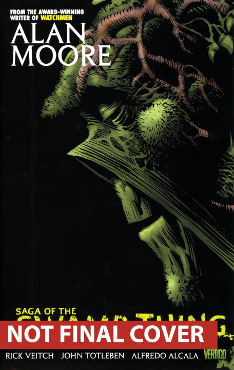 Alan Moore Saga Of The Swamp Thing Book 6