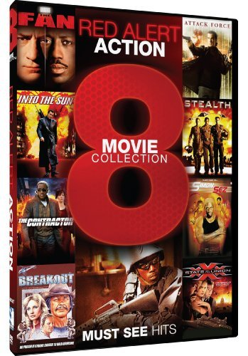 Red Alert Action 8 Movie Colle Red Alert Action 8 Movie Colle R 2 DVD
