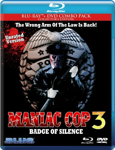 Maniac Cop 3 Badge Of Silence Maniac Cop 3 Badge Of Silence Blu Ray DVD R Ws