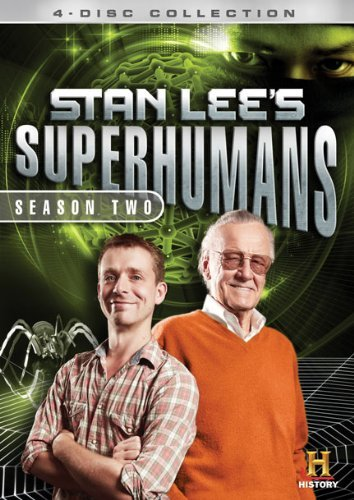 Stan Lee's Superhumans Season 2 Ws Pg Ws