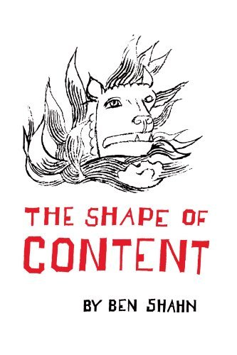 Ben Shahn The Shape Of Content Revised