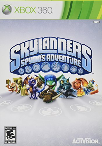 X360 Skylanders Spyro's Adventure Game Only Amazon Only Order