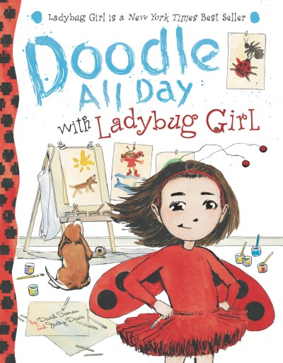 David Soman Doodle All Day With Ladybug Girl [with Sticker(s)]