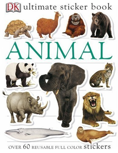 Dk Publishing Ultimate Sticker Book Animal