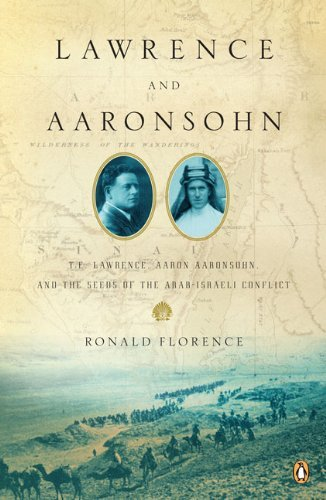 Ronald Florence Lawrence And Aaronsohn T. E. Lawrence Aaron Aaronsohn And The Seeds Of