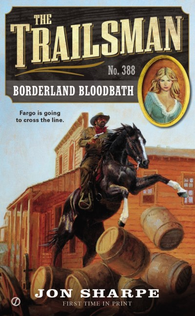 Jon Sharpe Borderland Bloodbath