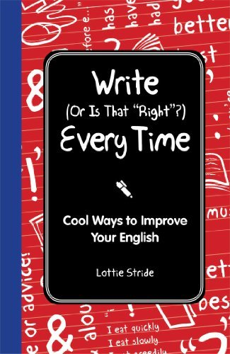 Lottie Stride Write (or Is It Right?) Every Time
