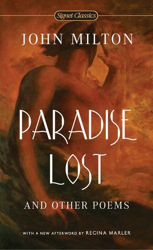 John Milton Paradise Lost And Other Poems