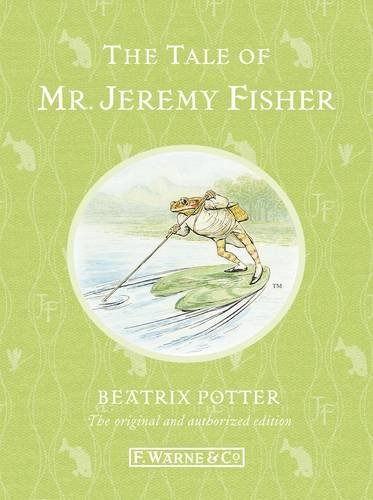 Beatrix Potter The Tale Of Mr. Jeremy Fisher 0110 Edition;anniversary