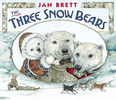Jan Brett The Three Snow Bears Oversized Board Book