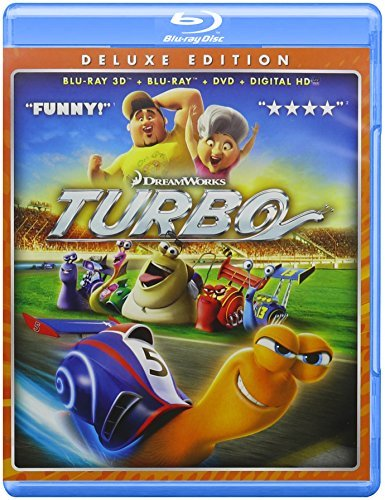 Turbo (blu Ray 3d Combo Pack) Turbo Blu Ray 3d Ws Pg Br 3d Br DVD Dc