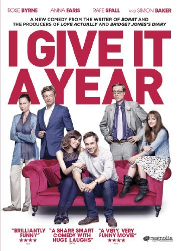 I Give It A Year Byrne Faris Spall Driver Baker DVD R Ws