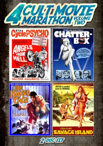 Savage Island Naked Cage Chatterbox Angels From Hell Cult Movie Marathon Volume 2 DVD Nr Ws Fs
