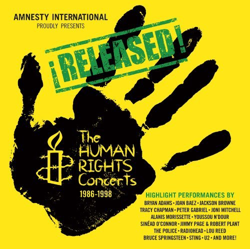 Human Rights Concerts Released The Human Rights Conc 2 CD