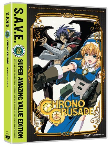 Chrono Crusade Complete Series DVD Tv14 Ws