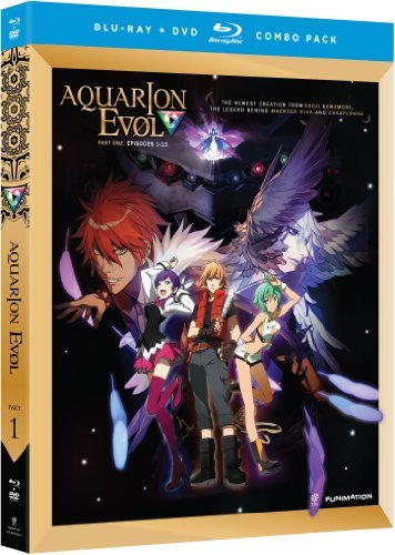 Aquarion Season 2 Part 1 Blu Ray DVD Tv14 Ws