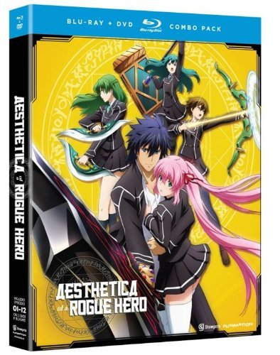 Aesthetica Of A Rogue Hero Complete Series Blu Ray DVD Tvma Ws