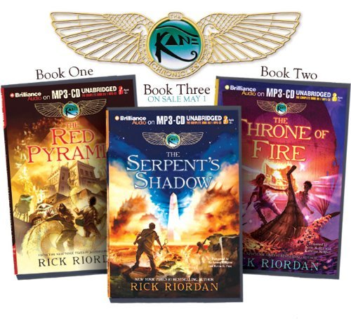 Rick Riordan Rick Riordan's The Kane Chronicles (bundle) The Red Pyramid The Throne Of Fire The Serpent'